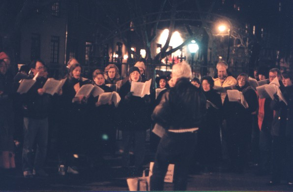RSS and friends' annual caroling event