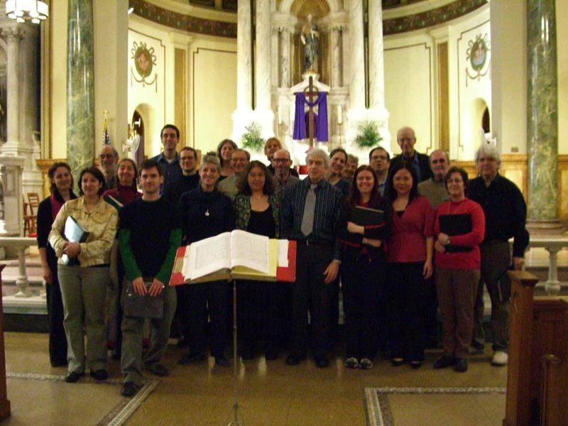 After giving a concert in St. Matthias R. C. Church